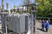 transformer station at PSI